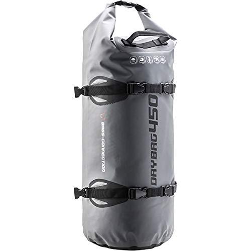 Wasserdichte Hecktasche Drybag 450, 45 Liter, grau/schwarz, wasserdicht