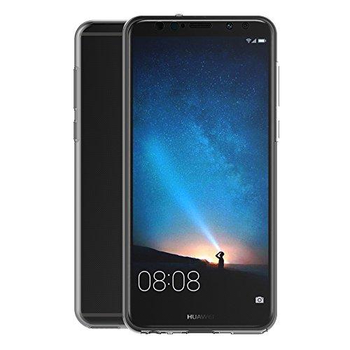 AICEK Huawei Mate 10 Lite Hülle, 360°Full Body Transparent Silikon Schutzhülle für Huawei Mate 10 Lite Case Crystal Clear Durchsichtige TPU Bumper Huawei Mate 10 Lite Handyhülle (5,9 Zoll) - 4