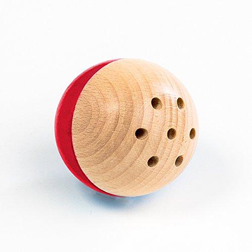rewoodo Baelly Premium Babyspielzeug Holzspielzeug aus Deutschland (rot)