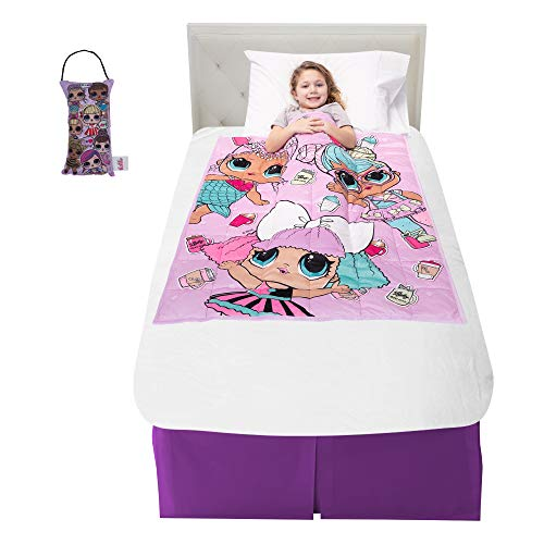 Franco Bedding Super Soft Plush Kids Weighted Blanket with Bonus Door Knob Pillow, 36