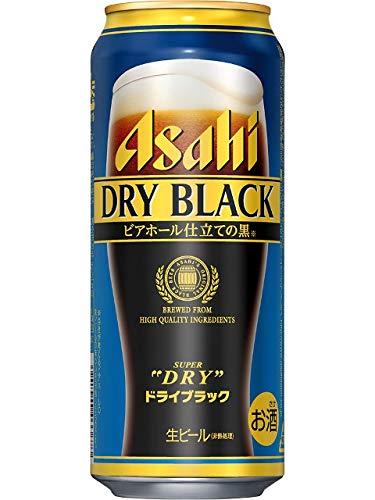 アサヒ スーパードライ ドライブラック 黒ビール 500ml×1ケース(24本) ■2箱まで1個口発送可 [並行輸入品]