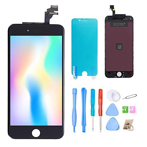 recyco Für iPhone 6 Display Schwarz 4.7