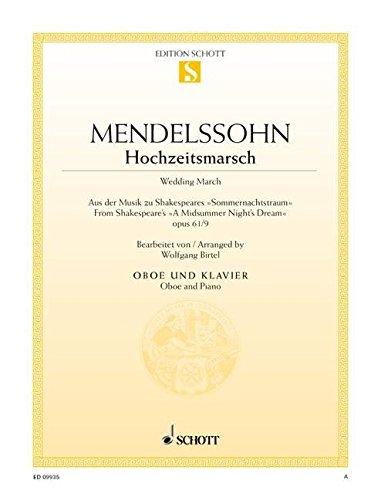 Hochzeitsmarsch: aus der Musik zu Shakespeares