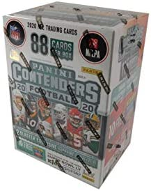 2020 Panini Contenders Football Factory Sealed Blaster Box Fanatics Exclusive product image