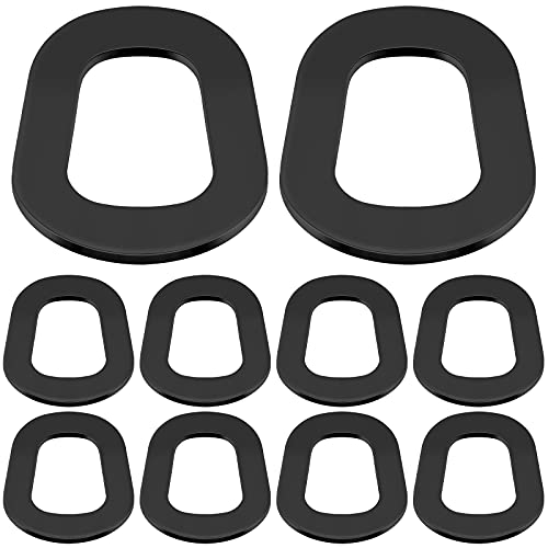 Frienda 10 Pieces Rubber Fuel Can Gaskets Replacement Gas Gaskets Gas Can Spout Gaskets Jerry Can Gaskets Gas Can Replacement Gaskets Fuel Washer Seals for Gas Can Spout Jerry Can Spout