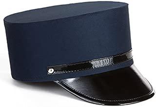 Kangaroo Cotton Navy Blue Adult Train Engineer; Conductor Hat