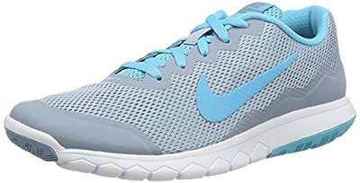 Nike Men's Flex Experience RN 4 (Blue Grey/Gmm Bl/Gmm Bl/White) Running Shoe, 8.5 B(M) US