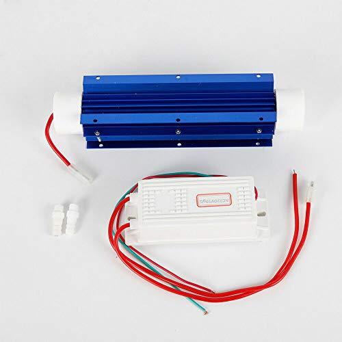 Generador de ozono de 10 g/h, tubo de cuarzo, kit generador de ozono industrial, dispositivo de ozono, purificador de aire, purificador de agua, purificador de aire, ionizador, desinfección de olores