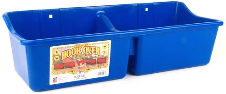 Miller Hook Over Feeder With Divider bluee 16 Quart  HFP24DblueEA