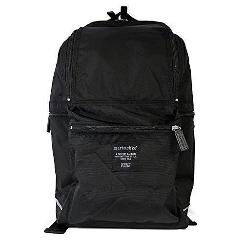 マリメッコ MARIMEKKO バディ BUDDY バックパック レディース 26994-999 ブラック [並行輸入品] バッグ リ