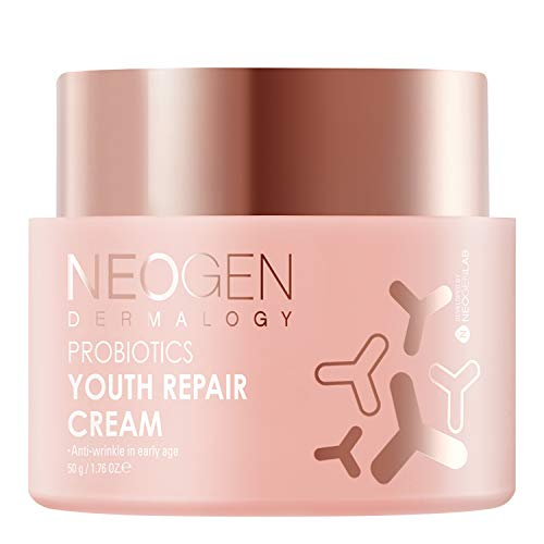 DERMALOGY by NEOGENLAB PROBIOTICS, Firmness and radiance care, Double Serum, Cream, Facial Mask, Mist, Lactobacillus 21%, Bifido Bacterium, High probiotics-infused cosmetic (YOUTH REPAIR CREAM)
