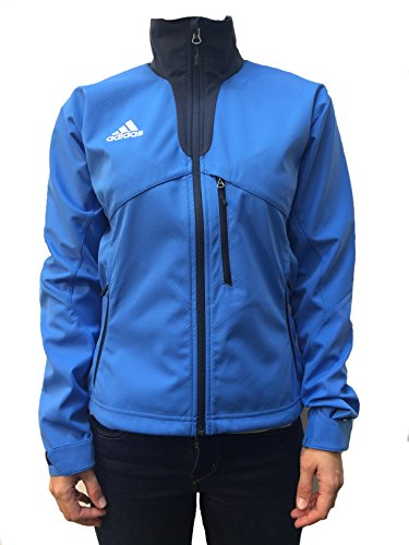 Adidas JKT W Softshelljacke blau T42