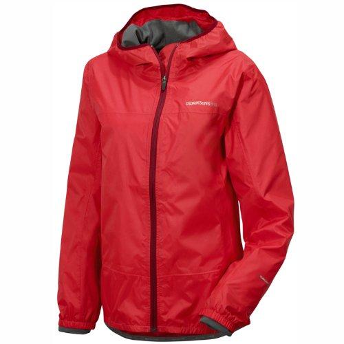 Didriksons Elbe Lady Jacket, Damen Jacke, rot - 44