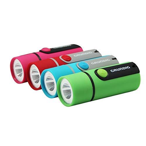 Linterna de mano de impacto de 4 unidades, varios colores, uso para suministros de huracán, camping, senderismo, emergencia, caza