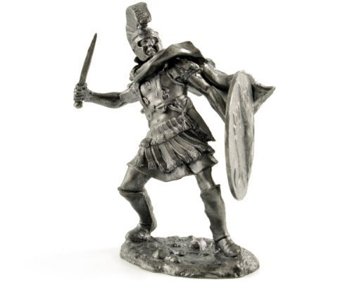 Tin toy soldiers. Military tribune. 3rd century BC. metal sculpture, statue. Collection 54mm (scale 1/32) miniature figurine by Gifts & Souvenirs