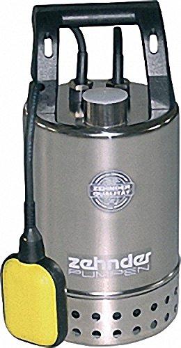 ZEHNDER Schmutzwasser-MAGNET-Tauchpumpe 11-4'' IG- 230 V- Fördermenge 8- 5 mn-h Korngröße 10mm - Edelstahl E-ZWM 65 A
