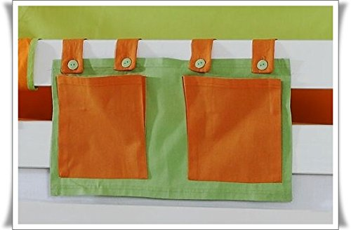 Tony poche latérale Sac pochette en tissu Spring pour lits haute pour enfant