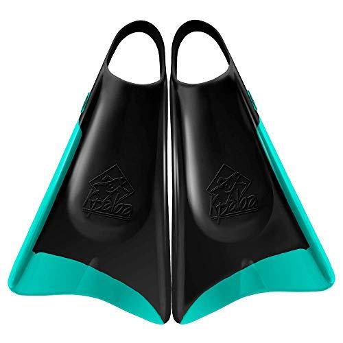 Kpaloa - Aletas de bodyboard, UV Style Turquesa - XL