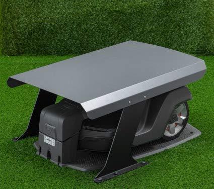 """Garage copristazione universale per riparo di robot rasaerba a ricarica frontale o posteriore - modello \""""BASIC\"""" (BIG)"""
