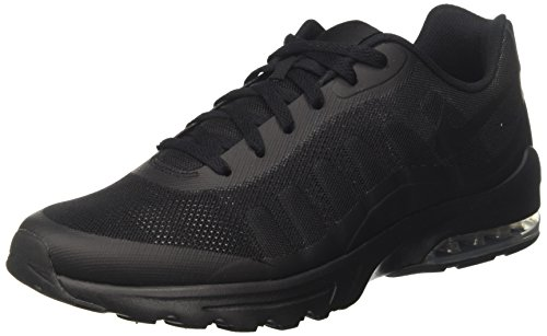 Nike Air Max Invigor, Chaussures de Running Entrainement Homme, Noir (Black / Black-Anthracite), 43 EU