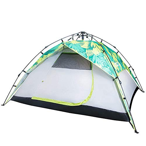 Yaunli tent UV-parasol automatische 3-4 personen tent strand regen waterdicht UV zonnescherm dubbellaags groot paviljoen draagbaar