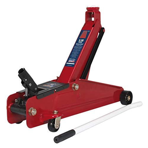 Sealey 1025HL - Sollevatore idraulico a carrello, solleva 2,25 tonnellate
