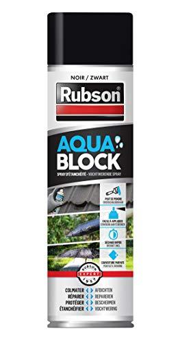 RUBSON 2266416 Spray IMPERMEABILIZZANTE, Nero