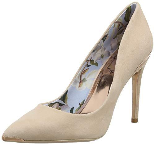 Ted Baker Kawaa, Zapatos de tacón con Punta Cerrada para Mujer , Marrón (Camel Brn) , 5 EU