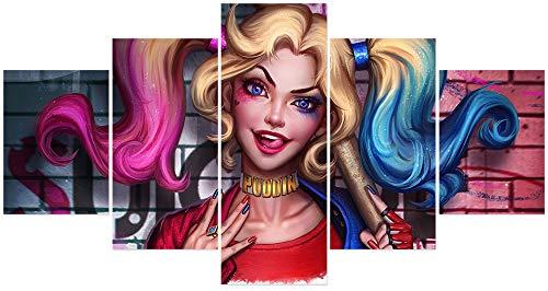41eeTUu2hTL Harley Quinn Paintings