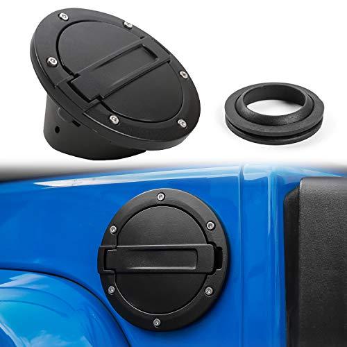 Maxiii Gas Fuel Door Black Filter Tank Door Cap with Lock /& Key Fit for 2004-2008 Ford F150