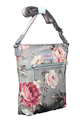Cath Kidston Travel Across Body Bag Garden Rose in Grey Polyester