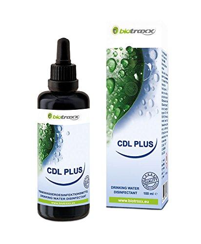 Biotraxx CDL - Plus Chlordioxidlösung mit Pipette 100 ml. Hergestellt in Deutschland