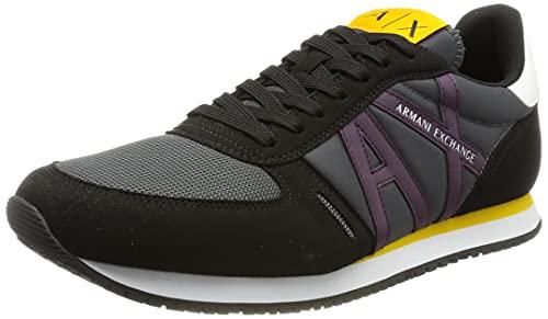Armani Exchange Herren Retrorunning Sneaker, K584, 41 EU