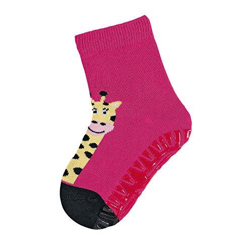 Sterntaler Fliesen Flitzer Soft, Mädchen Socken,Rosa (Magenta 745), Gr.19/20 (Herstellergröße: 12-18 Monate)