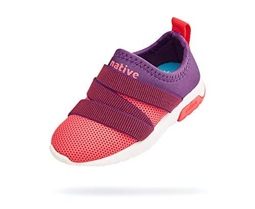 Native Shoes Phoenix (Little Kid) Starfish Purple/Floyd Pink/Shell White/Floyd Pink 13 Little Kid M