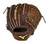 Mizuno Classic Pro Soft Pitcher Baseball Glove 12', Size 12, Left Hand: Peanut (Fr84) Left-Handed Thrower