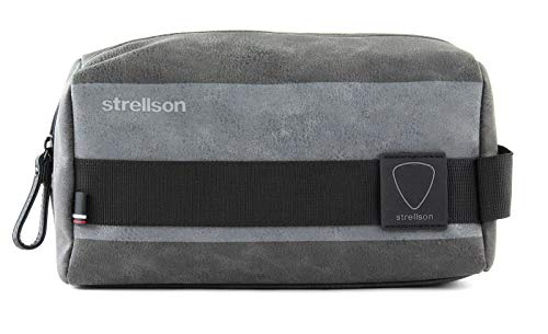 Strellson finchley washbag shz Herren Kosmetiktasche, 4010002557, Dunkel Grau 802