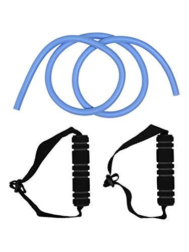 (エスエーギア) s.a.gear エクササイズチューブハンドル付き エクストラヘビー ブルー