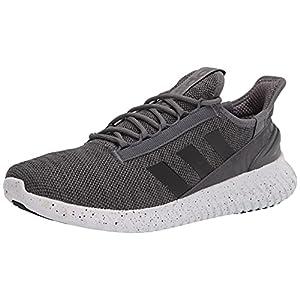 adidas Men's Kaptir 2.0 Trail Running Shoe, Grey/Black/Dash Grey, 9.5