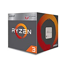 Image of AMD Ryzen 3 2200G. Brand catalog list of AMD. Rated with a 4.6 over 5
