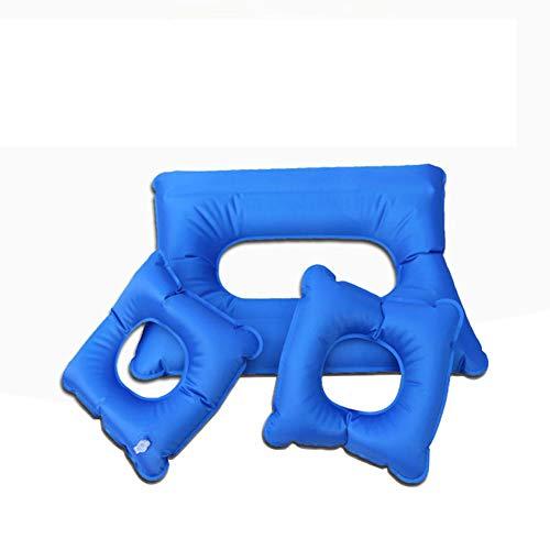 Aufblasbare Kissen, Kissen Für Ältere Menschen Gegen Wundliegen, Atmungsaktiv Und Bequem Aufblasbares Sitzkissen Hüftstütze Tragbares Rollstuhlstuhlkissen Für Ältere Menschen (3-Teiliges Set)