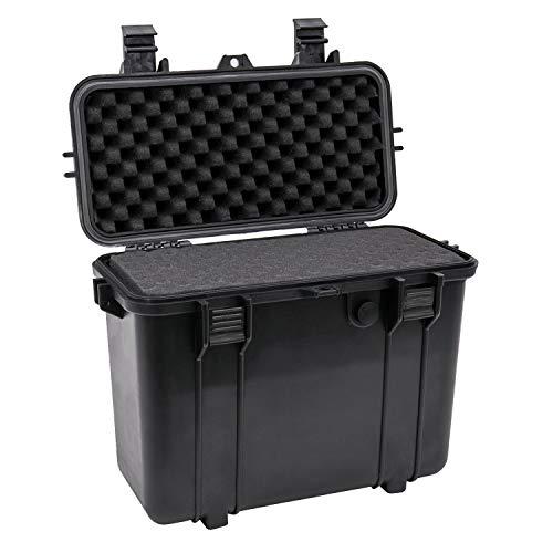 HMF ODK300 Outdoor-Fotokoffer für Objektive mit Rasterschaumstoff | 43 x 22 x 34 cm
