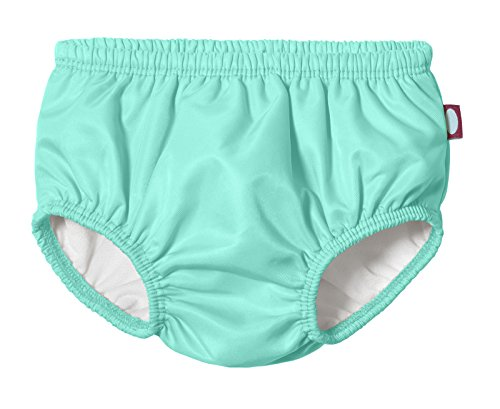 City Threads Baby Girls' and Boys' Swim Diaper Cover Reusable Leakproof for Swimming Pool Lessons Beach, Turquoise, 5