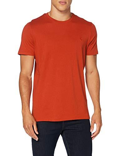 Springfield 5Ba Básica Logo Tree-c/68 Camiseta, Morado (Wine 68), Small (Tamaño del Fabricante: S) para Hombre