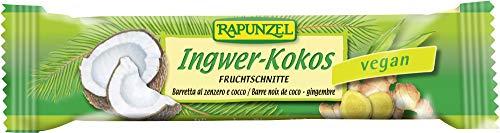 Rapunzel Bio Fruchtschnitte Ingwer-Kokos (6 x 40 gr)