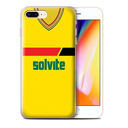 Handy-Schutzhülle mit dem Chelsea 1991Design aus der Kollektion Retro Trikot/Kit Division 1 Watford 1985 Apple iPhone 8 Plus
