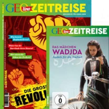 """GEOlino ZEITREISE mit DVD 6/2018 """"Die grossen Revolutionen"""""""