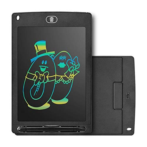 Anam Safdar Butt Tableta de Escritura LCD Inteligente portátil de 8.5 Pulgadas Bloc de Notas electrónico Tablero de Escritura de gráficos de Dibujo Tablero Ultrafino - Negro