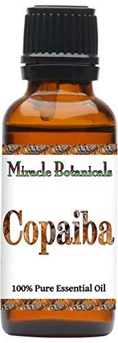 Miracle Botanicals Copaiba Essential Oil - 100% Pure Copaifera Langsdorfii - 10ml or 30ml Sizes - Therapeutic Grade - 30ml