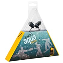 【ZAGG】ザグ aqua BUDS earphone 【CASEPLAY】防水イヤホン iPod アクア イヤホン 耐水性